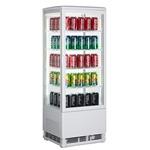 GoodFood Витрина холодильная RT98L белая
